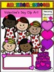 Valentine Clip Art Set - Commercial use Okay!