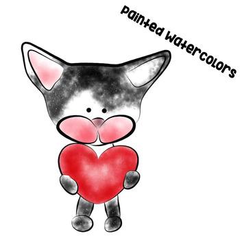 "#FebTpTClipLove Valentine Clip Art  ""You have my heart"""