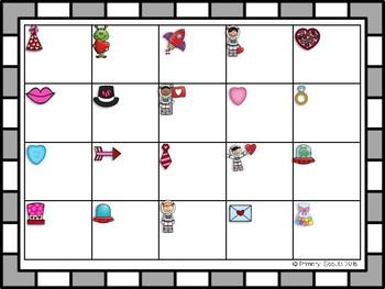 Valentine Clip Cards