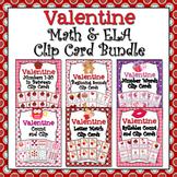 Valentine Clip Cards Bundle