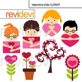 Valentine Clip art, Valentine Kids clipart