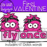 "Valentine Clipart - Dolch Sight Word Clip Art ""FIRST"" {Jen"