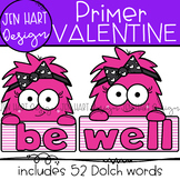 "Valentine Clipart - Dolch Sight Word Clip Art ""PRIMER"" {Je"