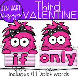 "Valentine Clipart - Dolch Sight Word Clip Art ""THIRD"" {Jen"