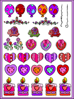 Valentine's Clipart (7 FREE Elements Included) Embellish Yourself Artworks