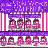 Valentine Clipart - Sight Word Bundle {Jen Hart Clipart}