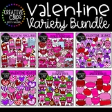 Valentine Clipart Variety Bundle: $28.50 Value {Creative C