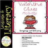 Valentine Clues Activity