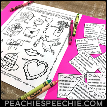 Valentine Clues: Early Inferencing