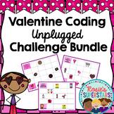 Valentine Coding Unplugged ~ 3 Different Challenges
