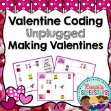Valentine Coding Unplugged ~ Making Valentines Challenge