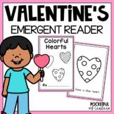 Valentine's Day Color Book Emergent Reader