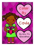 Valentine Color By The Code