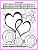 Valentine Color by Code: Add & Subtract Mixed Number Fractions