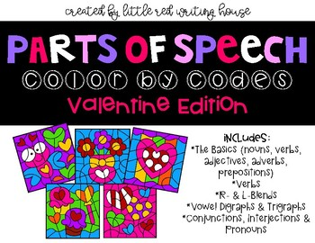 Valentine Color by Codes