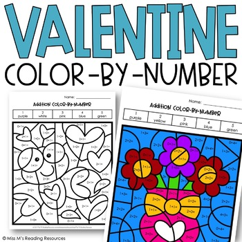 Valentine Color-by-Number
