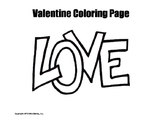 Valentine Coloring Page Duo