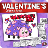 Valentine's Day Coloring sheets