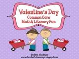 Valentine Common Core Math & Literacy Activity Pack