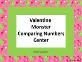 Valentine Comparing Numbers Center