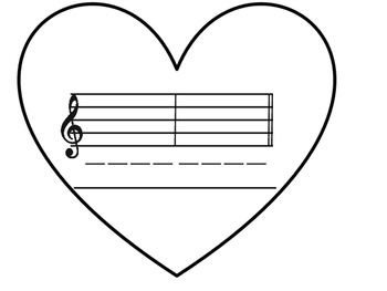 Valentine Composition Worksheet