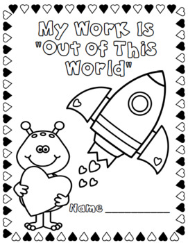 Valentine Conference Work Folder Covers-FREE!