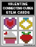 Valentine Connecting Cube Holiday Task Card Work It Build