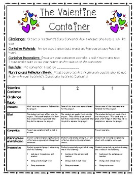 Valentine Container STEAM Challenge
