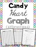Valentine Conversation Heart Graphing {Differentiated}