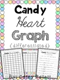 Valentine Conversation Heart Graphing {Differentiated}