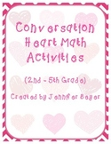 Valentine Conversation Heart Math Activity Pack