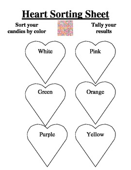 Valentine Conversation Heart Math:Data Collection and Analysis