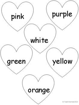 Valentine Conversation Heart Tally & Graph