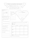 Valentine Conversation Hearts Science Experiment