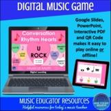 Valentine Conversation Rhythm Hearts | Musical Math| Digit