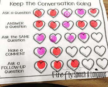 Valentine Conversation Tracker