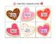Valentine Cookies Rhyming Cards (CVC-Short Vowel)