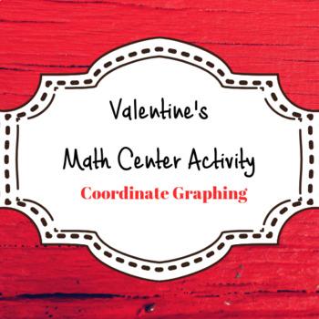 Valentine Coordinate Graphing Activity