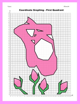 Valentine Coordinate Graphing Picture: For My Valentine