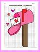Valentine Coordinate Graphing Picture: Secret Message