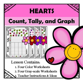 Valentine - Count Tally Graph