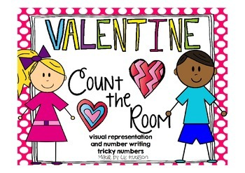 Valentine Count and Write the Room