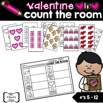 Valentine Count the Room