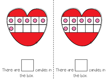 Counting Valentine Candy 1-20