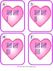 Valentine Counting 11-20 {Subitizing with Tally Marks}