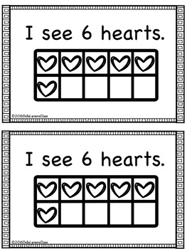 Valentine Counting Book