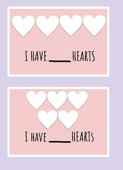 Valentine Counting Booklet