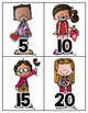 Valentine Counting By Fives Activity {Freebie}