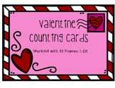Valentine Counting Cards