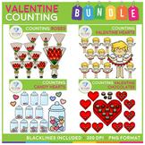 Valentine Counting Clip Art BUNDLE!
